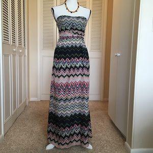 💕 Strapless Maxi dress ☀️
